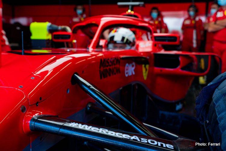 Sebastian Vettel, Ferrari @ Mugello