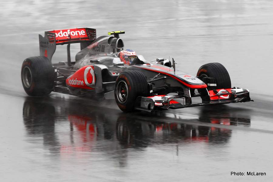 Jenson Button at Canadian GP
