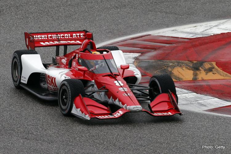 Marcus Ericsson aeroscreen