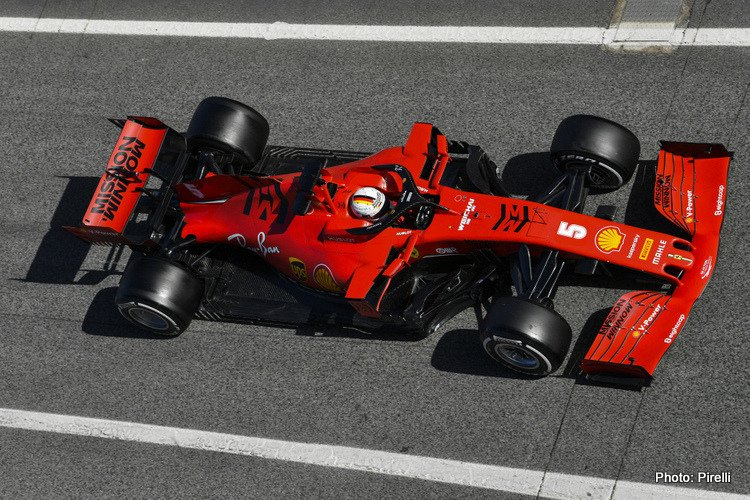 Ferrari 2020 Test 2 Day 2