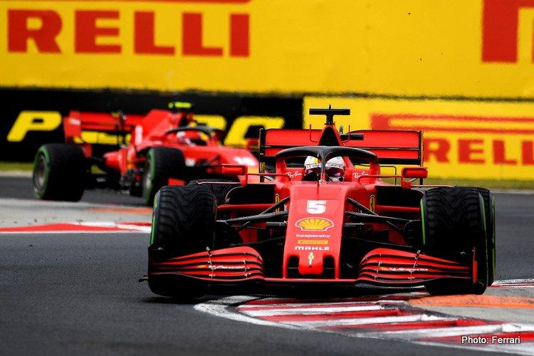 Ferrari 2020 Hungarian Grand Prix