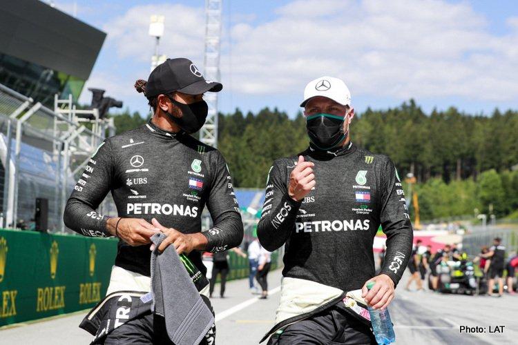 Lewis Hamilton & Valtteri Bottas