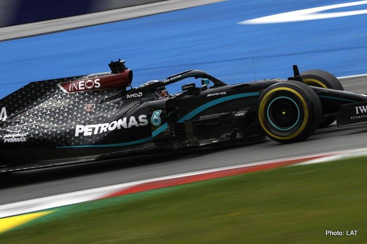 Lewis Hamilton Austria Friday