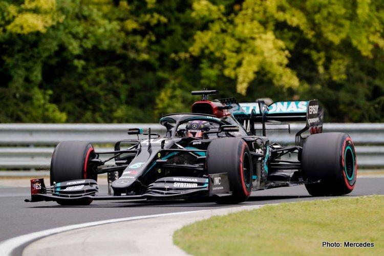 Lewis Hamilton, Hungarian Grand Prix Qualifying