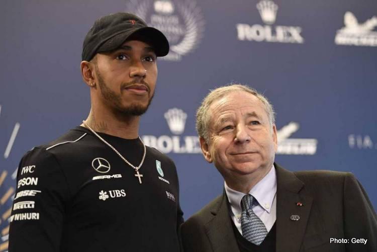 Lewis Hamilton & Jean Todt