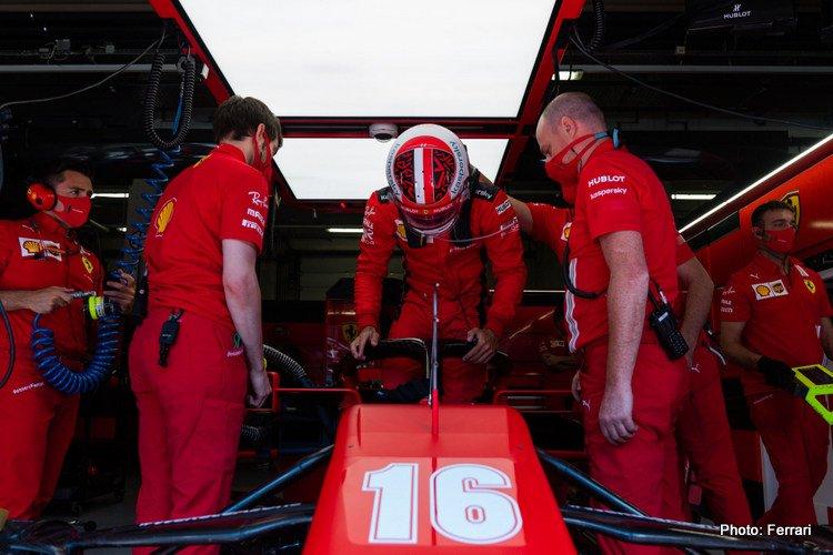 Charles Leclerc, 2020 Austrian GP Qualifying