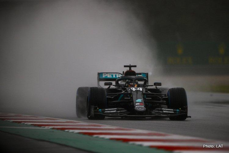 Lewis Hamilton 2020 Styrian Grand Prix qualifying