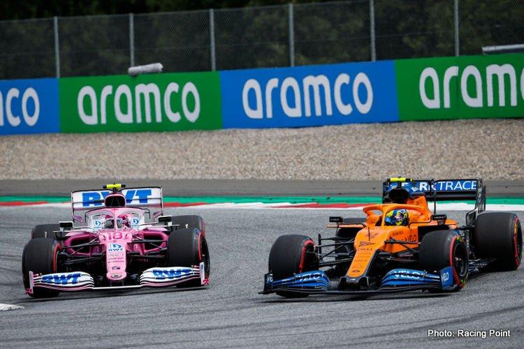 Racing Point & McLaren, 2020 Styrian Grand Prix