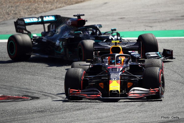Red Bull and Mercedes, 2020 Austrian Grand Prix