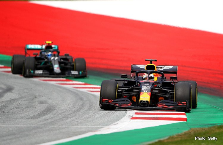 Red Bull and Mercedes, Styrian Grand Prix