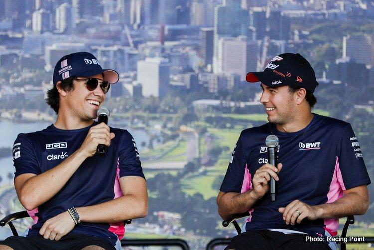 Lance Stroll & Sergio Perez