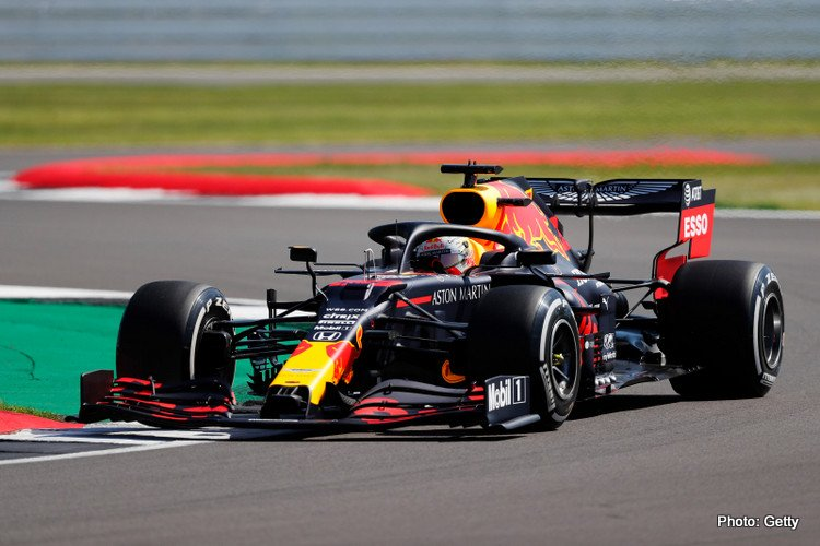 Max Verstappen, 2020 British Grand Prix FP1