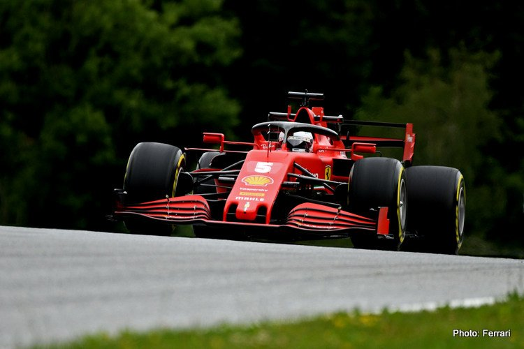 Ferrari Austria 2020 Friday