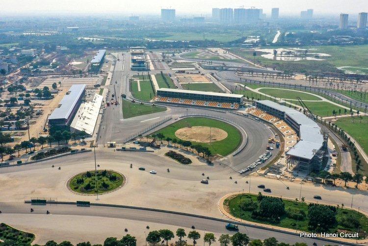Vietnamese Grand Prix circuit