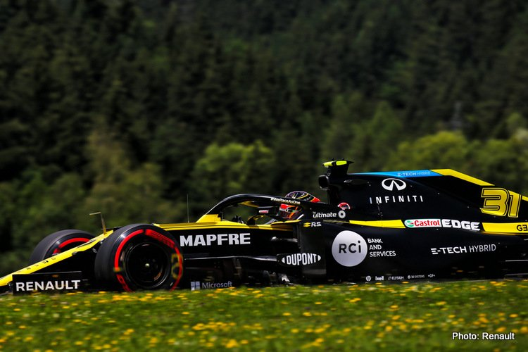 Esteban Ocon (FRA) Renault F1 Team RS20.Austrian Grand Prix, Saturday 4th July 2020. Spielberg, Austria.