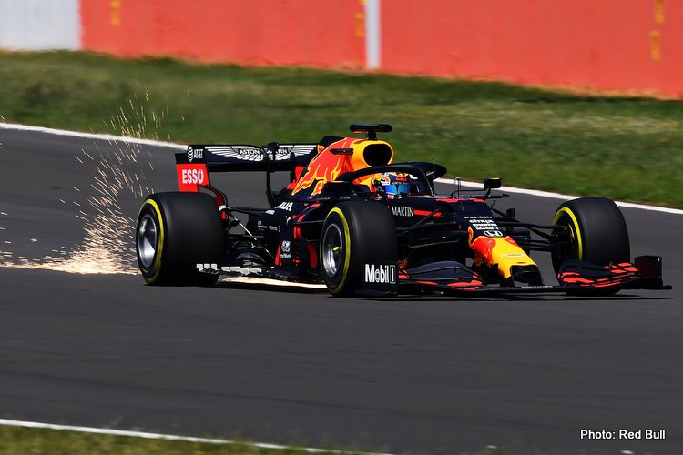 Red Bull RB16 at Silverstone