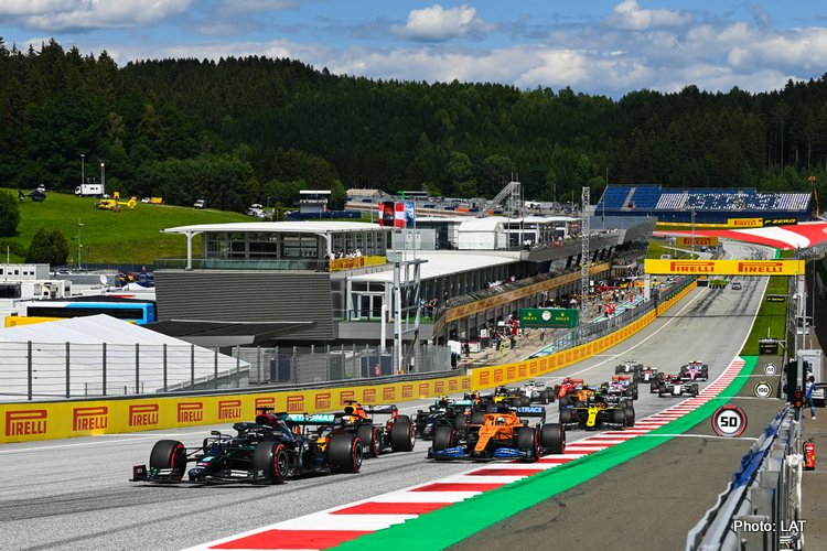 2020 Styrian Grand Prix start