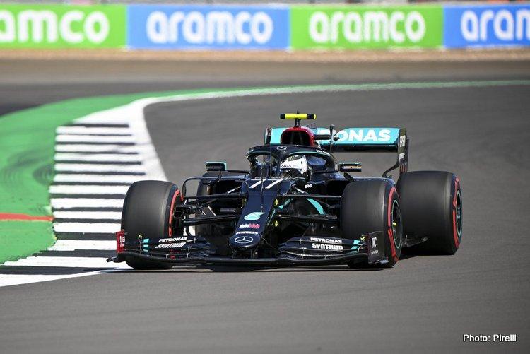 Valtteri Bottas, 2020 British GP FP3
