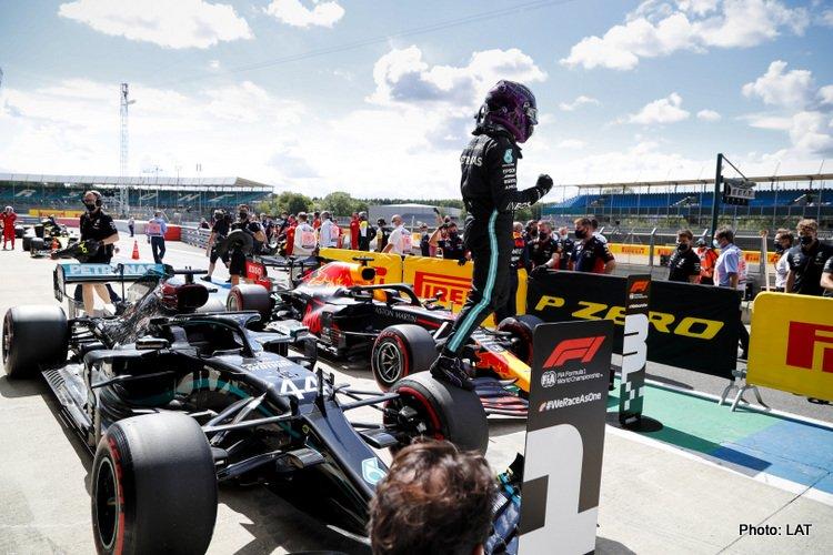 Lewis Hamilton, 2020 British Grand Prix Saturday