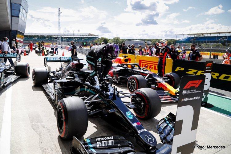 Lewis Hamilton, 2020 British GP qualifying
