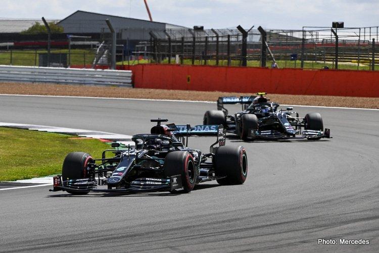 Mercedes British GP Silverstone 2020 W11