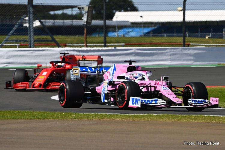 Racing Point, Anniversary GP Friday