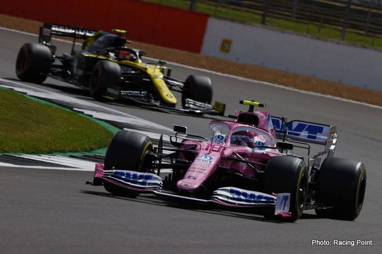 Racing Point and Renault, 2020 British GP
