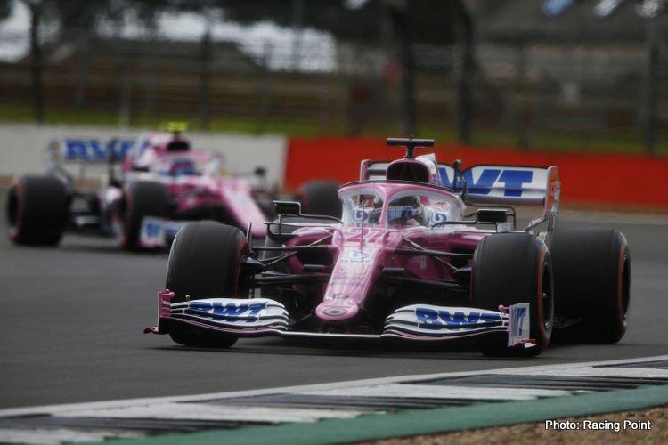 Racing Point, 2020 British GP qualifying