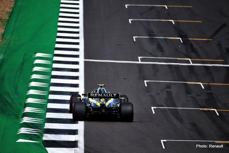 Ocon British GP Silverstone Renault 2020