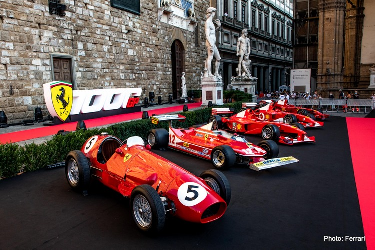 Ferrari 1000th gp celebration