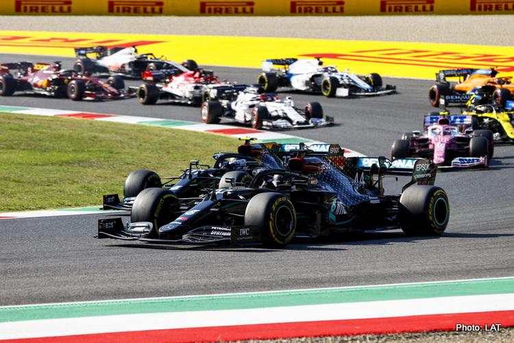 Lewis Hamilton, Mercedes F1 leads teammate Valtteri Bottas
