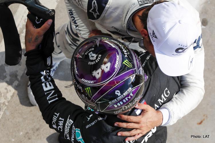 Lewis Hamilton, Pierre Gasly