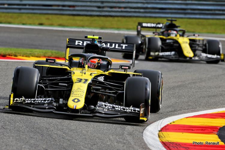 Esteban Ocon, Daniel Ricciardo
