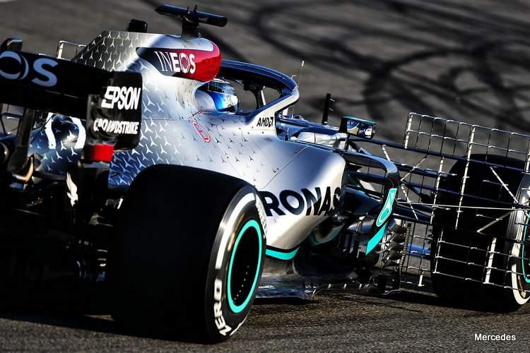 Formula One Pre-Season Testing - Day One - Circuit de Barcelona - Catalunya. Valtteri Bottas (FIN) Mercedes AMG F1 W11.Formula One Testing, Day 1, Wednesday 19th February 2020. Barcelona, Spain. URN:50419836 |