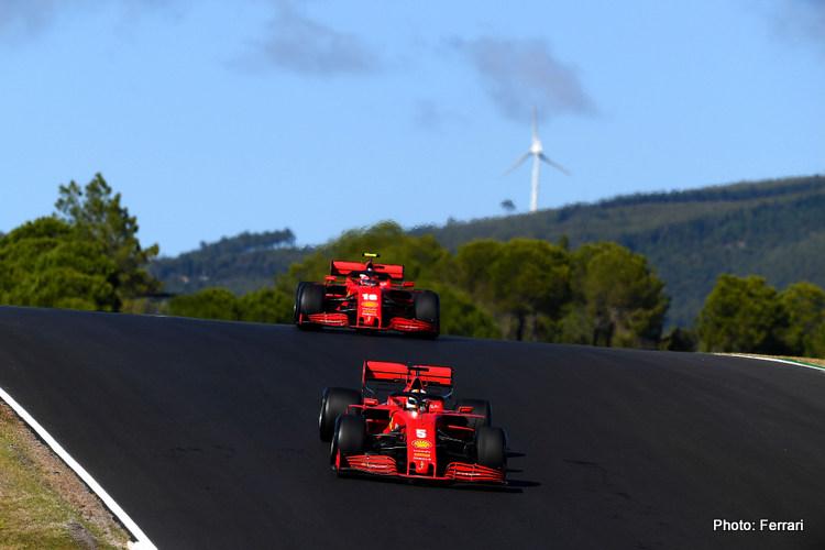 Sebastian Vettel & Charles Leclerc, Ferrari