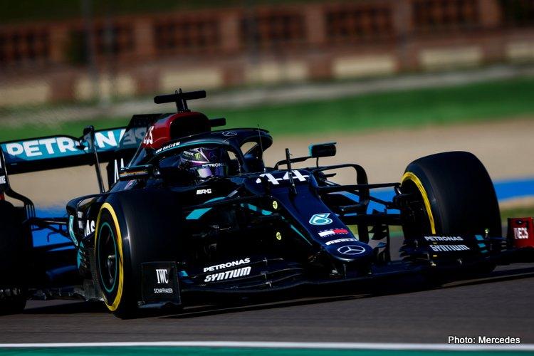 Lewis Hamilton, Imola Practice
