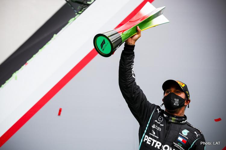 Lewis Hamilton, 2020 Portuguese GP