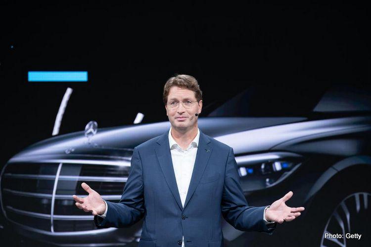 Ola Kallenius, Mercedes chairman