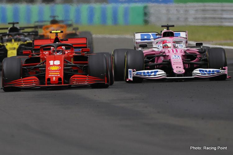 szafnauer Ferrari vs Racing Point
