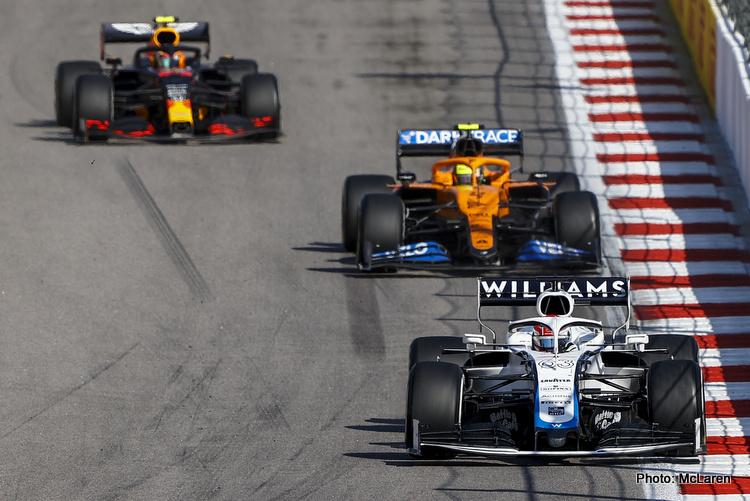 Williams, McLaren and RedBull
