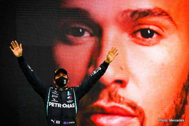 Portuguese Grand Prix: Hamilton claims 92 in imperial style