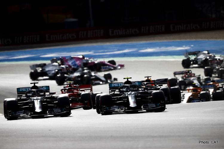 2020 Eifel GP start