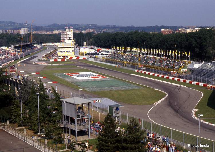 Imola Race Track aerial photo