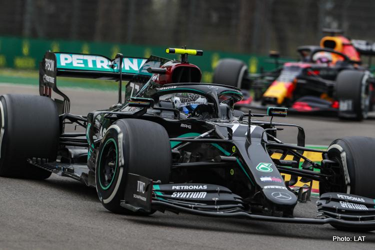 Valtteri Bottas, 2020 Emilia Romagna Grand Prix