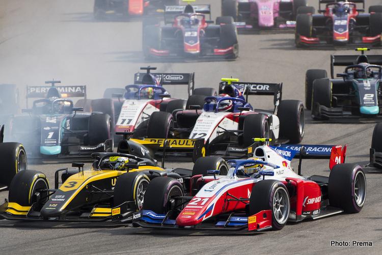 F2 Russia GP start