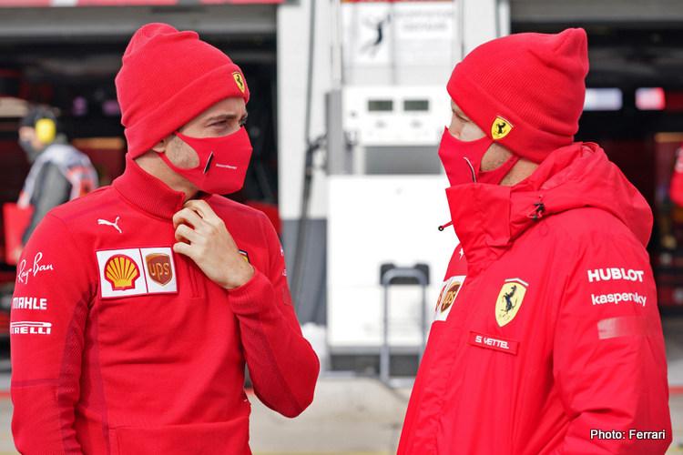 Charles Leclerc & Sebastian Vettel