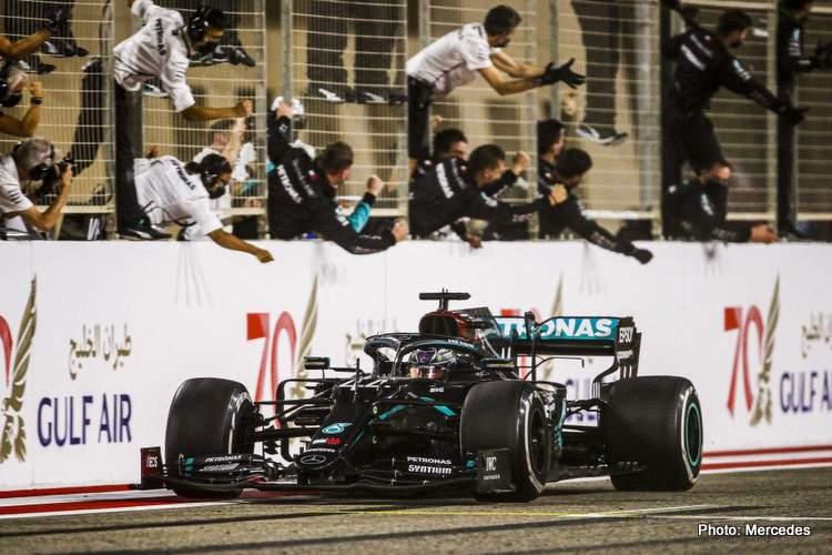 lewis hamilton bahrain win f1 formula 1 formula one