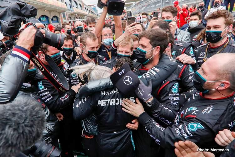 lewis hamilton mercedes f1 formula 1 eddie jordan wins