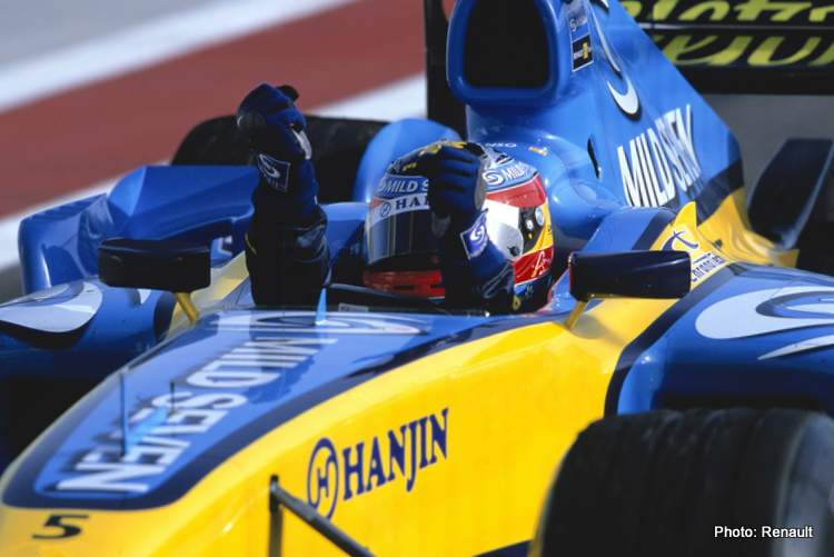 Alonso 2005 Bahrain Grand Prix