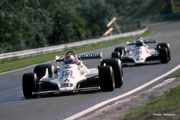 Clay Regazzoni, Williams-Ford FW07 Alan Jones, Williams-Ford FW07